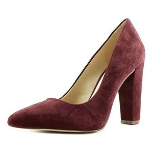 BCBGeneration Clarice-X Pointed Toe Suede Heels